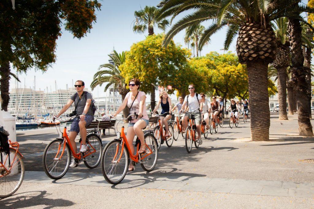 Ontdek Barcelona op de fiets