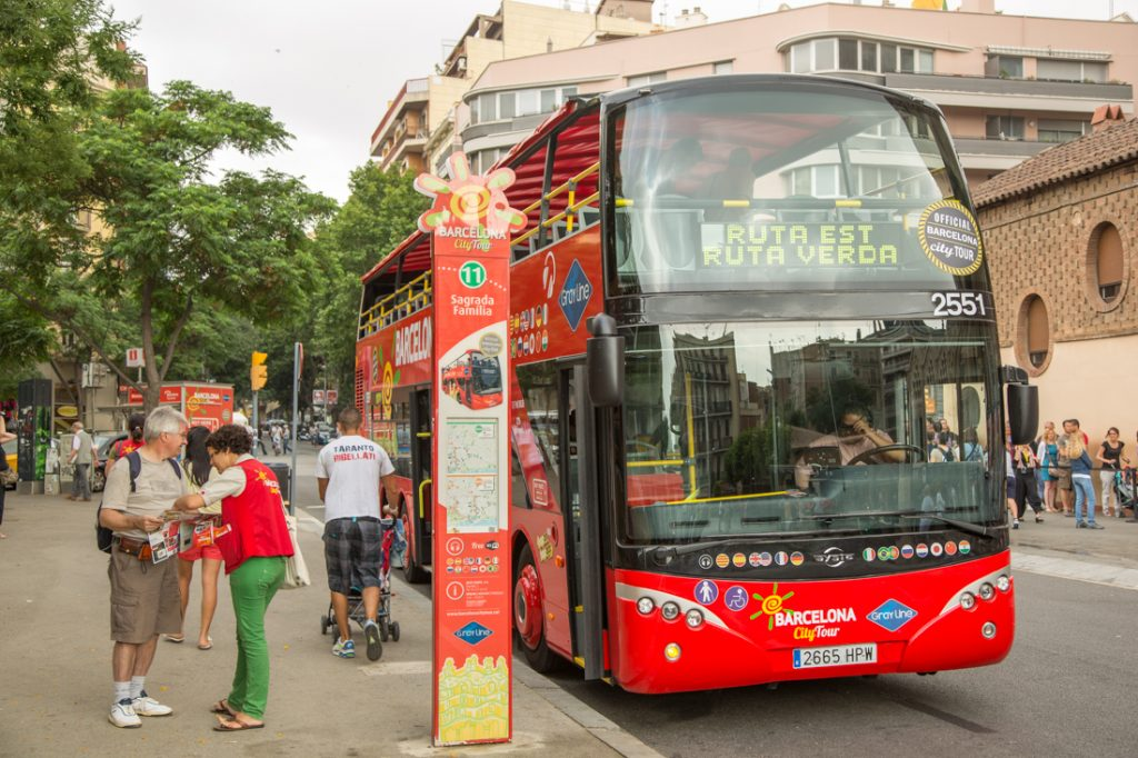 Hop on hop off toeristenbus