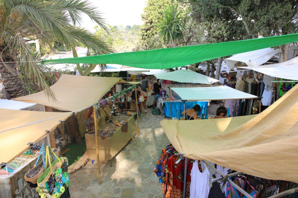 Hippiemarkt op Ibiza