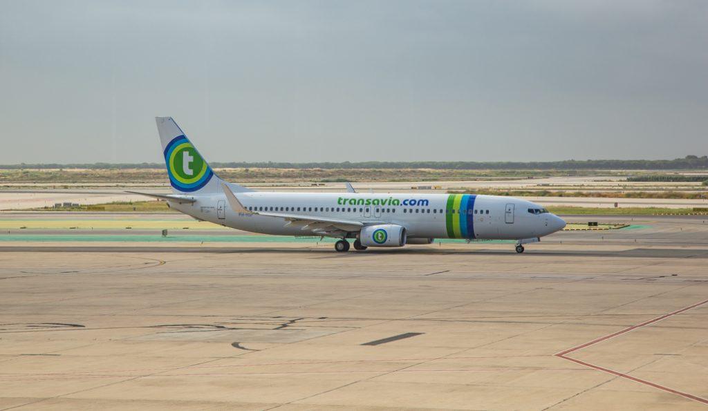 Transavia vliegtuig